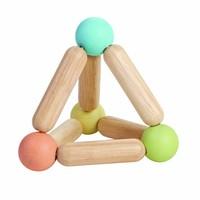 Driehoekrammelaar in pastelkleuren