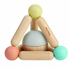 Plan Toys Plan Toys triangle clutching toy pastel