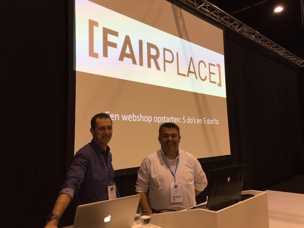 Fairplace aan het woord op de e-commerce-beurs in Kortrijk