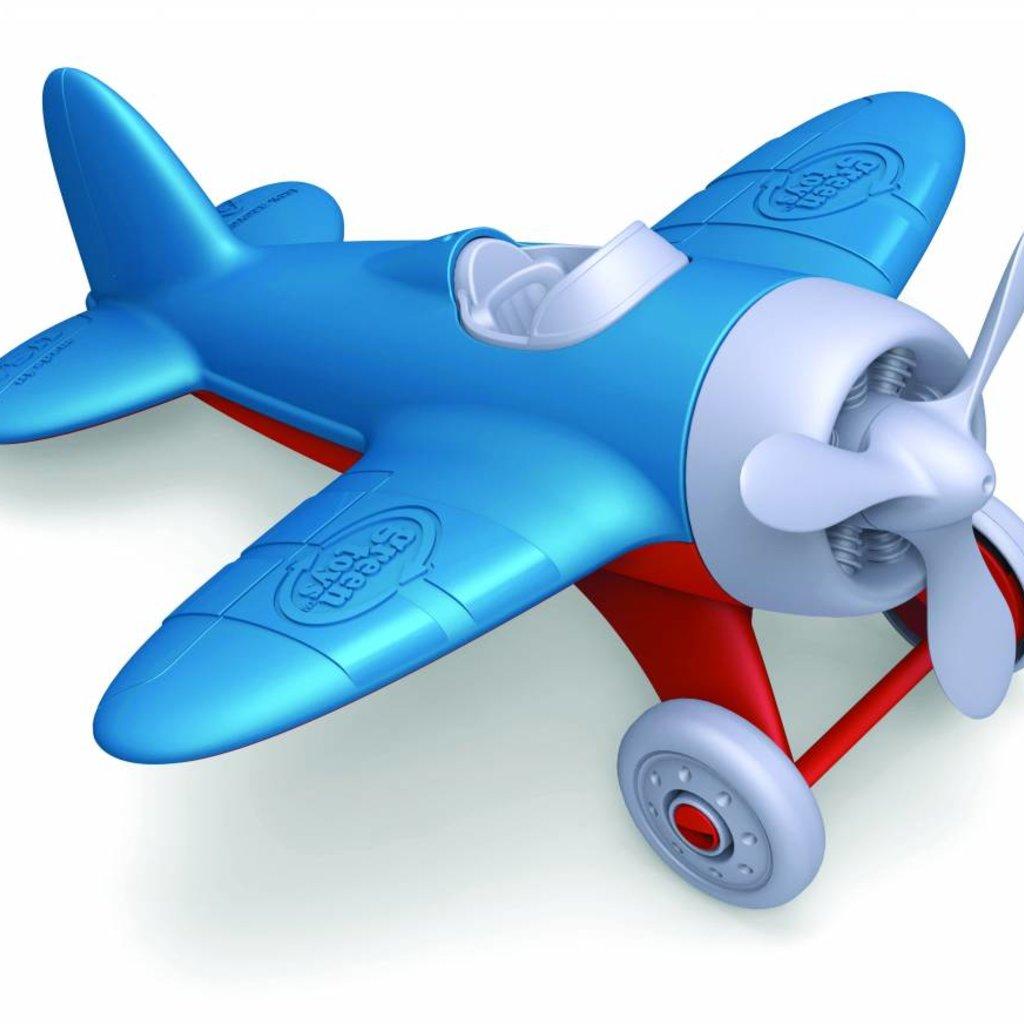 Green Toys Green Toys vliegtuig blauw