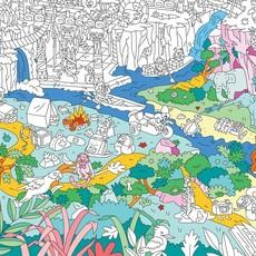OMY OMY kleurposter Jungle