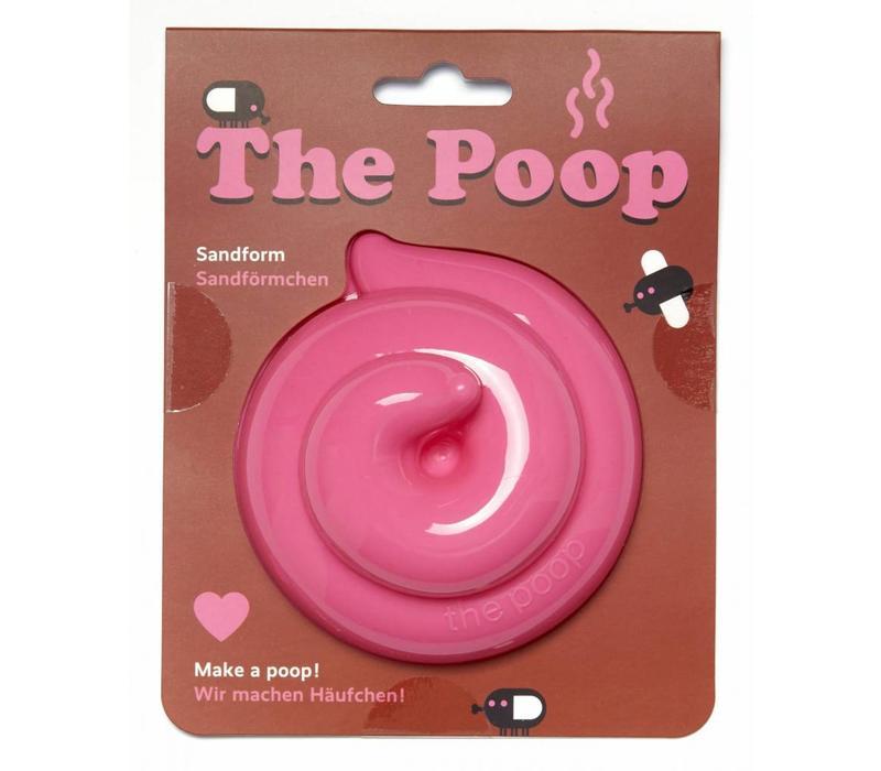 The Poop zandvorm roze