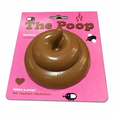 Neue Freunde The Poop sand shape brown