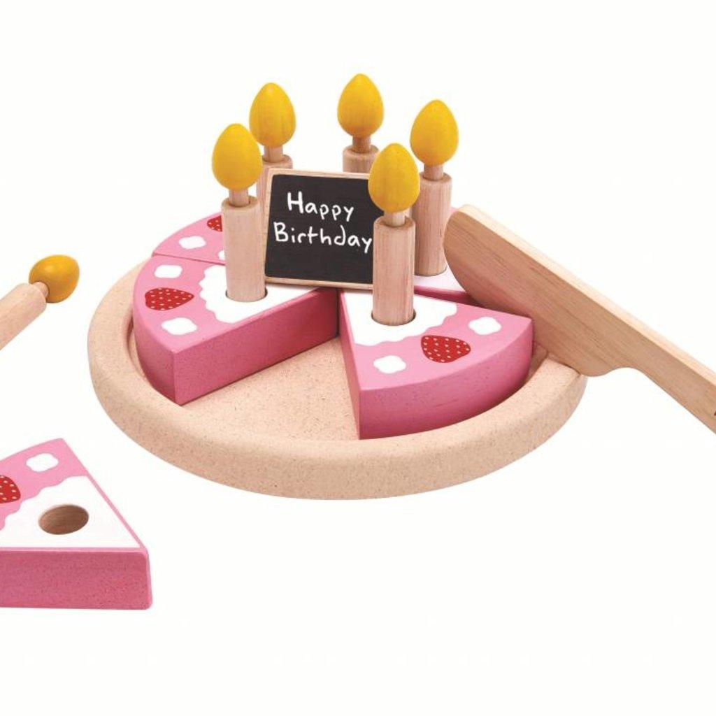 Plan Toys Verjaardagstaart met kaarsjes