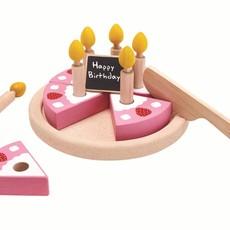 Plan Toys Plan Toys verjaardagstaart met kaarsjes