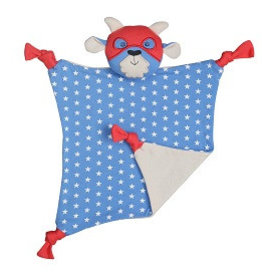 Organic Farm Buddies Cuddly blanket 'Super Go-T'