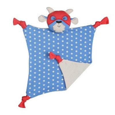 Organic Farm Buddies Cuddly blanket 'Super Go-T'