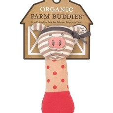 Organic Farm Buddies Organic Farm Buddies Pork Chop rattle