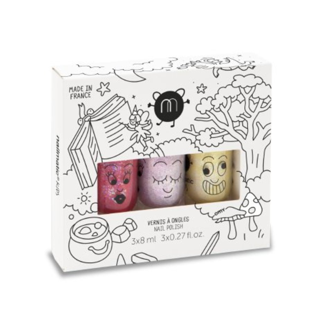 Nailmatic Nailmatic Set de vernis à ongles Magic Forest 3 couleurs