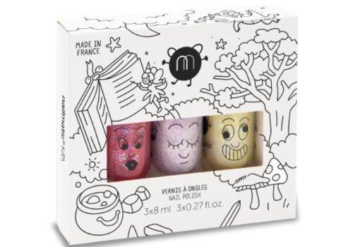 Nailmatic Nagellak  set Magic Forest 3 kleuren