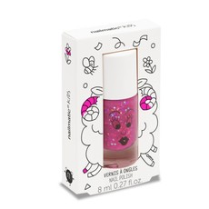 Nailmatic Nailmatic nagellak paars met glinsters 'Sheepy'