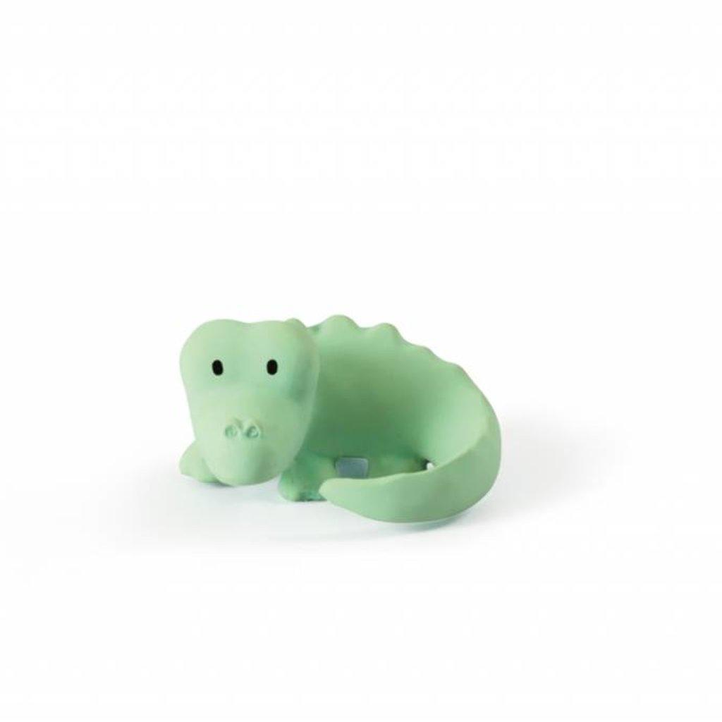 Tikiri Jouet en caoutchouc crocodile