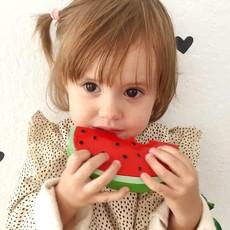 Oli & Carol Bijtspeeltje watermeloen in natuurrubber