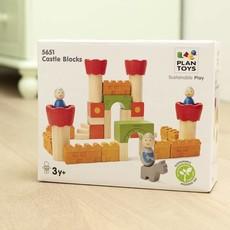 Plan Toys Bouw je eigen kasteel met deze Plan Toys bouwblokken