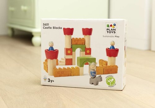 Plan Toys Kasteelbouwblokken