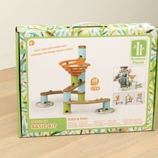 Bamboo Planet Knikkerbaan Basic Kit (48-delig)