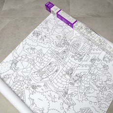 OMY OMY Giant Coloring Poster XXL - Tales & legends