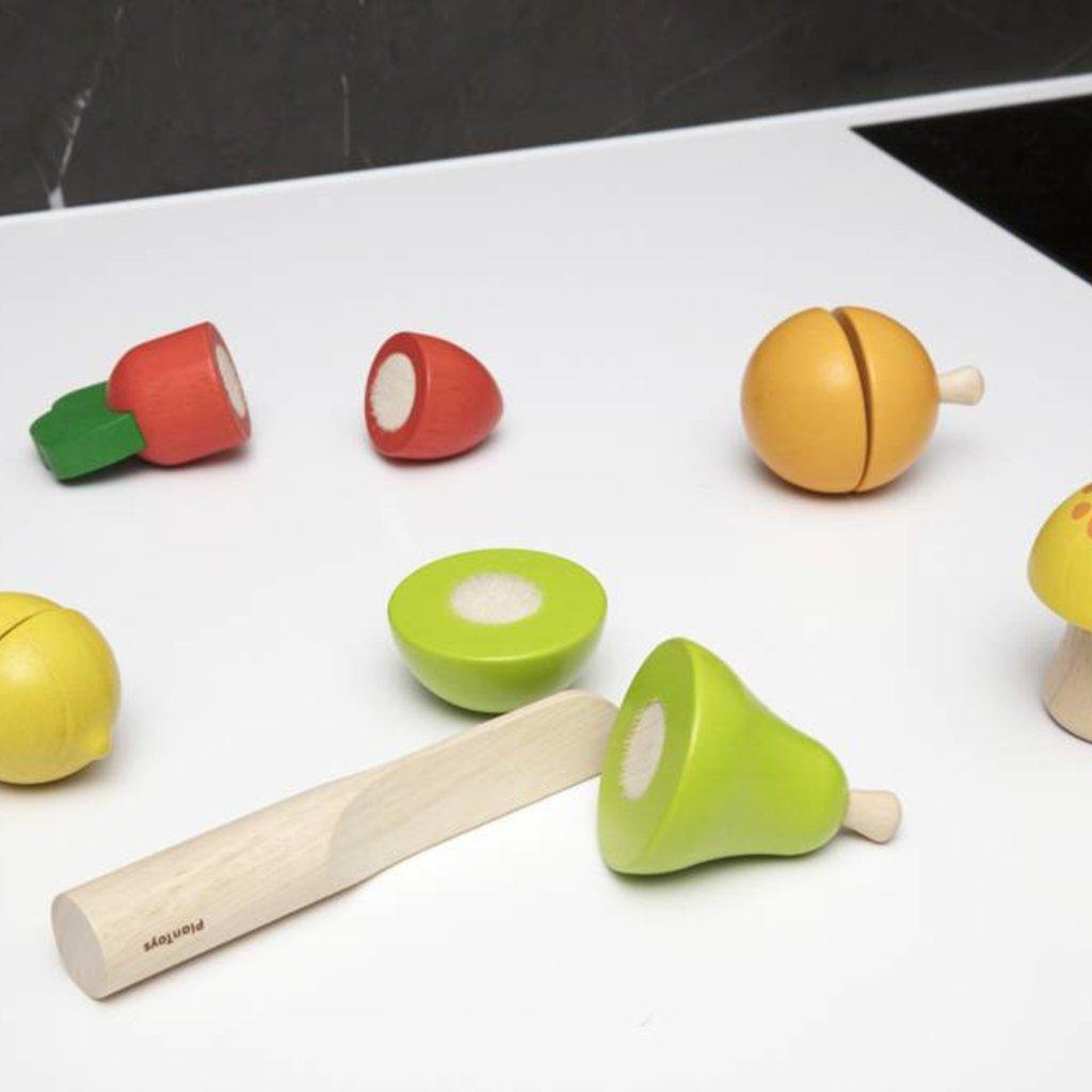 Plan Toys Ensemble de base de fruits et légumes
