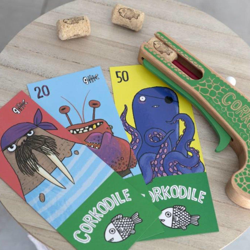 Neue Freunde Neue Freunde Pistolet à bouchons de liège Crocodile