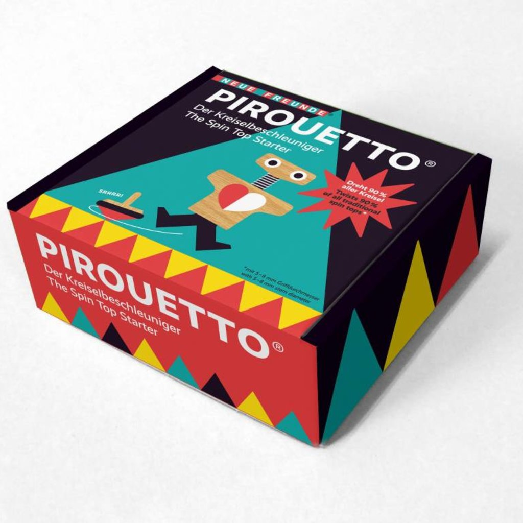 Neue Freunde Neue Freunde Pirouetto tol-lanceerder
