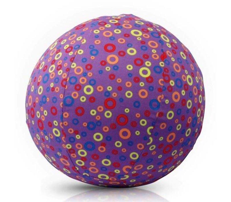 Balloncover 'circles purple'