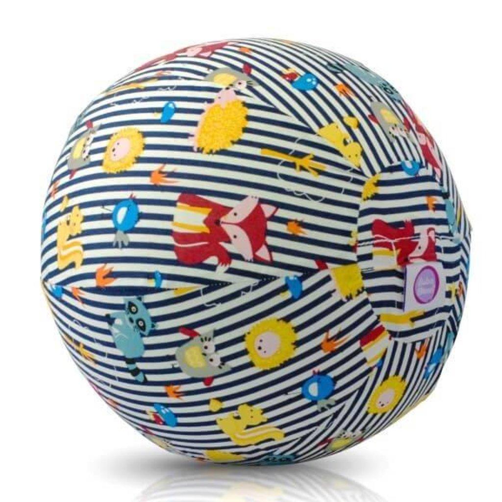 Bubabloon Bubabloon Balloncover 'Animals stripes blue'
