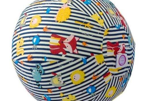 Bubabloon Balloncover 'animals stripes blue'