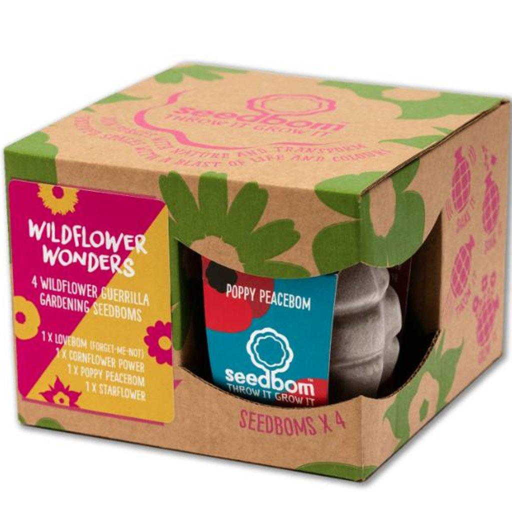 Kabloom Kabloom Wildflower Wonders Seedbom Gift Box
