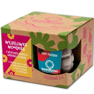 Kabloom Wildflower Wonders Seedbom Gift Box