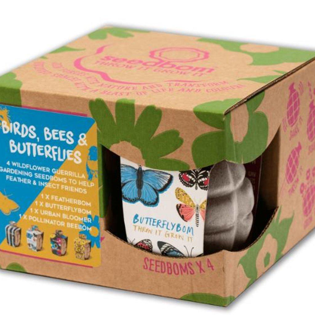 Kabloom Bloemengranatenset 'Birds, Bees & Butterflies'