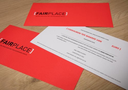Fairplace Waardebon 100 euro