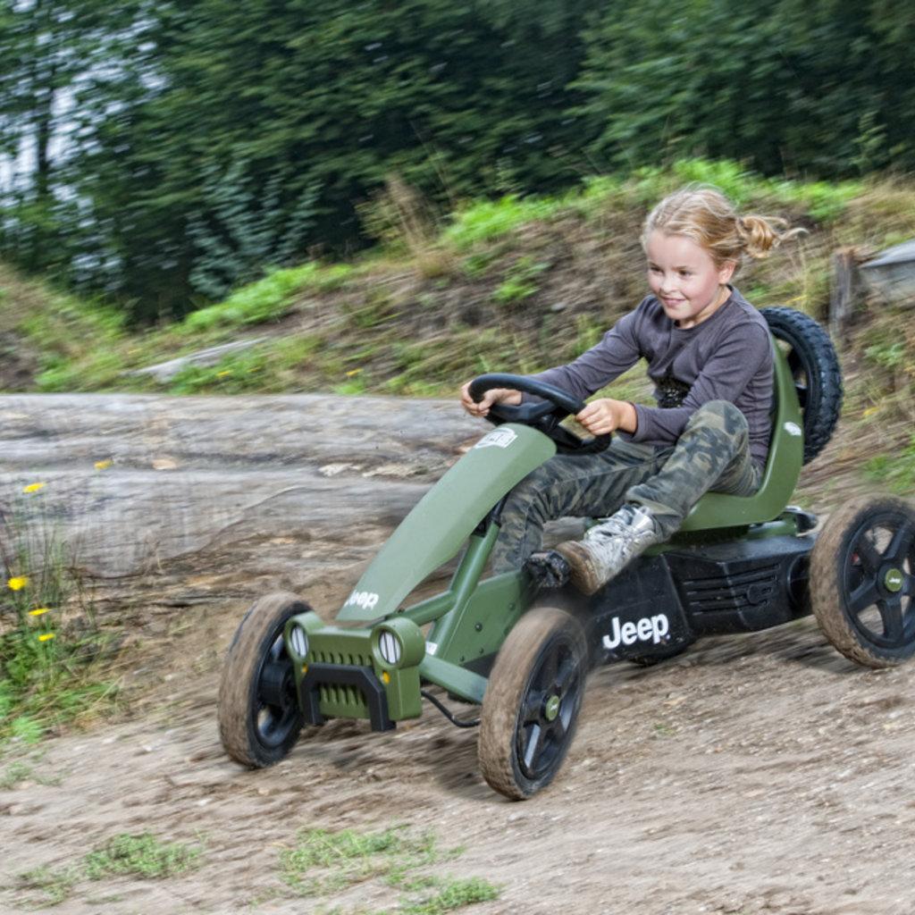Berg gocarts Jeep  Adventure pedal go-kart