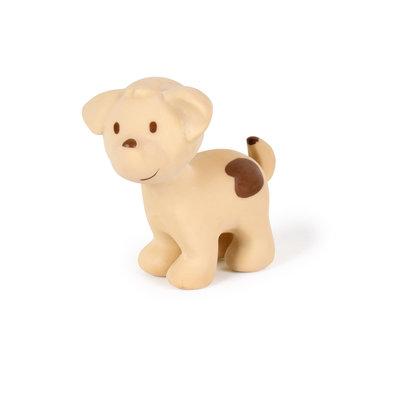 Tikiri Jouet en caoutchouc chien