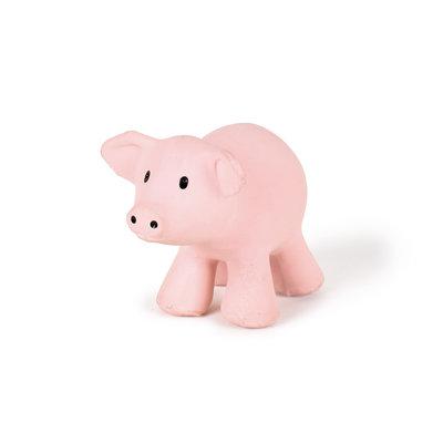 Tikiri Jouet en caoutchouc cochon