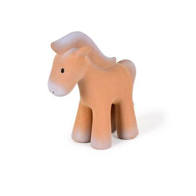 Tikiri Jouet en caoutchouc cheval