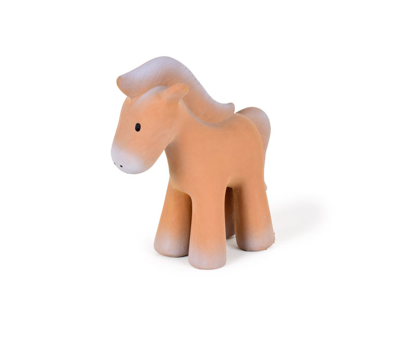 Rubberdier paard
