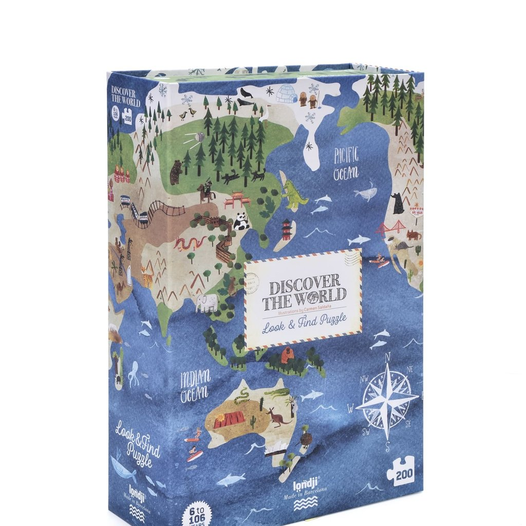 Londji Discover the world puzzle