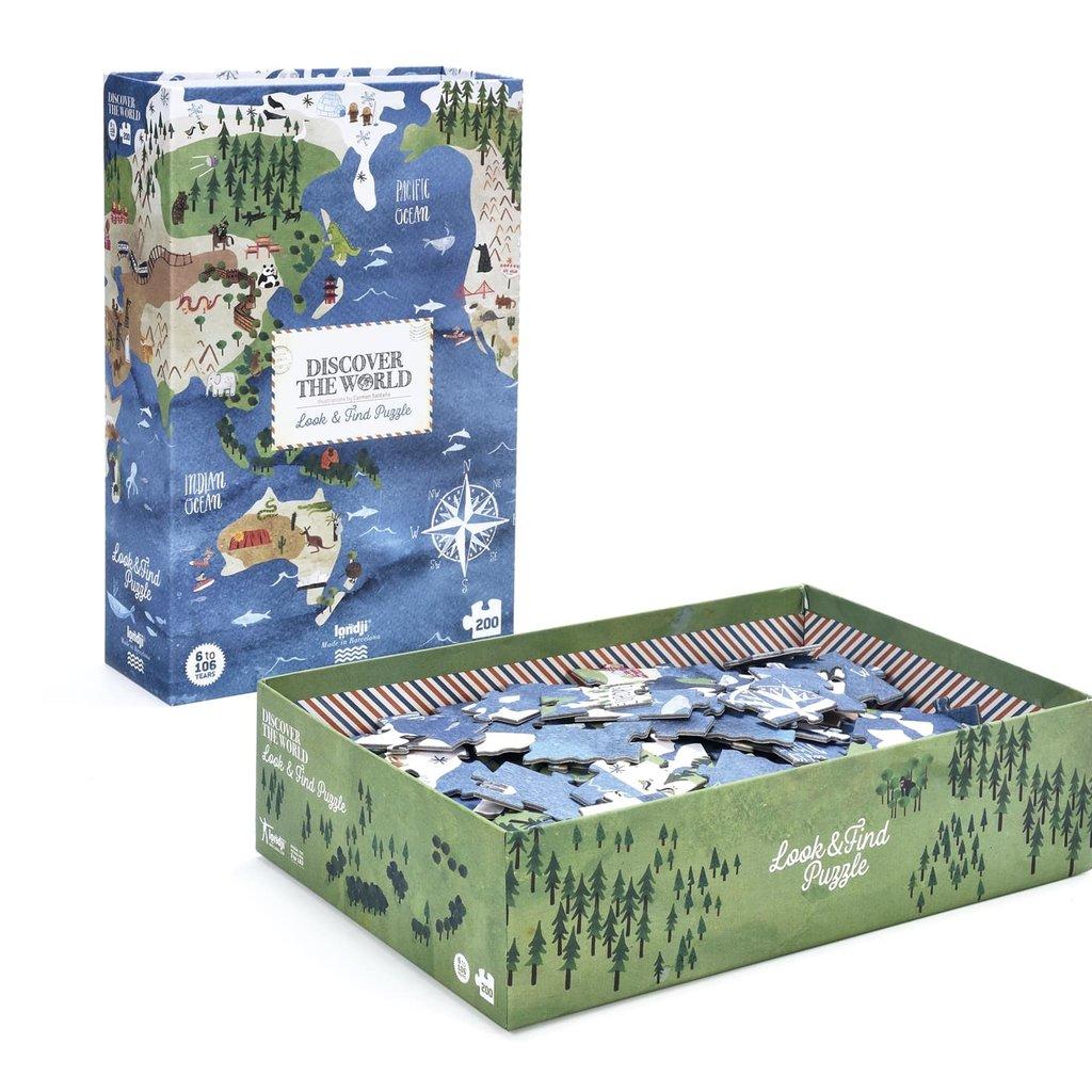 Londji Puzzle du monde à découvrir