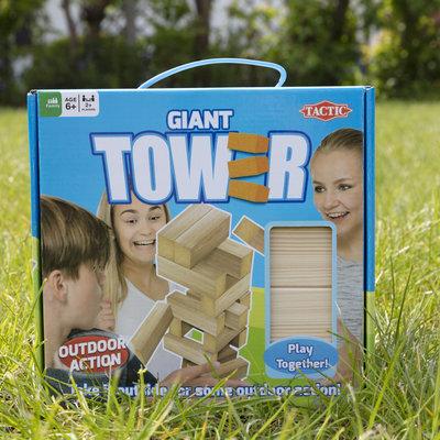 Tactic Games Jeu de société XL Tower