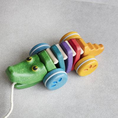 Plan Toys Dancing rainbow alligator