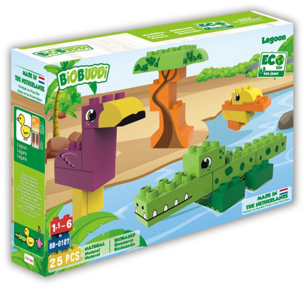 Biobuddi Bouwblokken Wildlife Lagoon