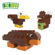 BioBuddi Blocs de construction fôret sauvage 27 pièces