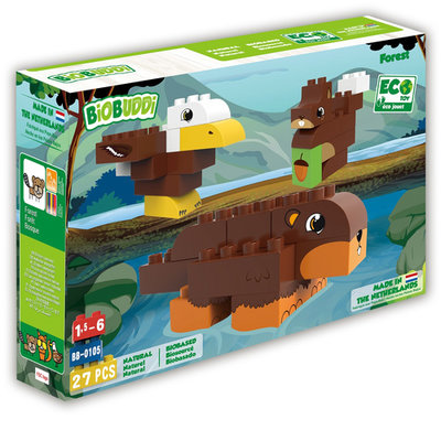 BioBuddi Building blocks Wildlife forest