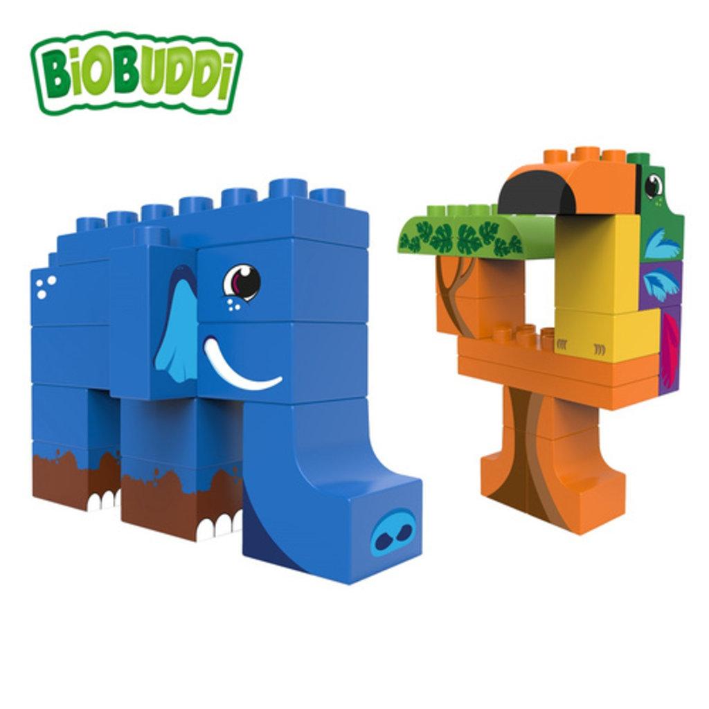 BioBuddi Blocs de construction jungle sauvage 27 pièces