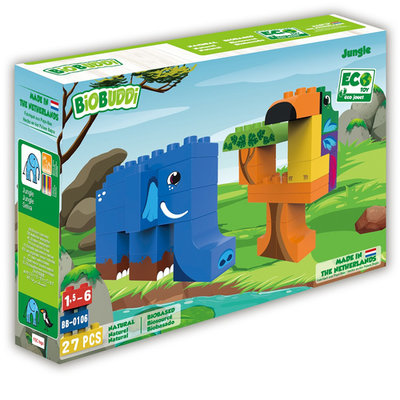 BioBuddi Building blocks Wildlife jungle