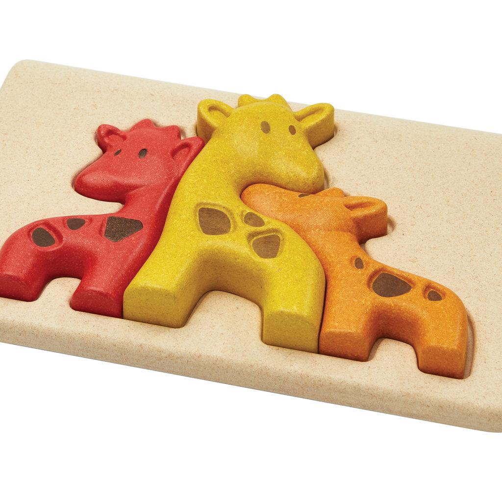 Plan Toys Giraf puzzel