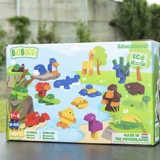 BioBuddi Super ensemble de blocs de construction animaux 240 pièces