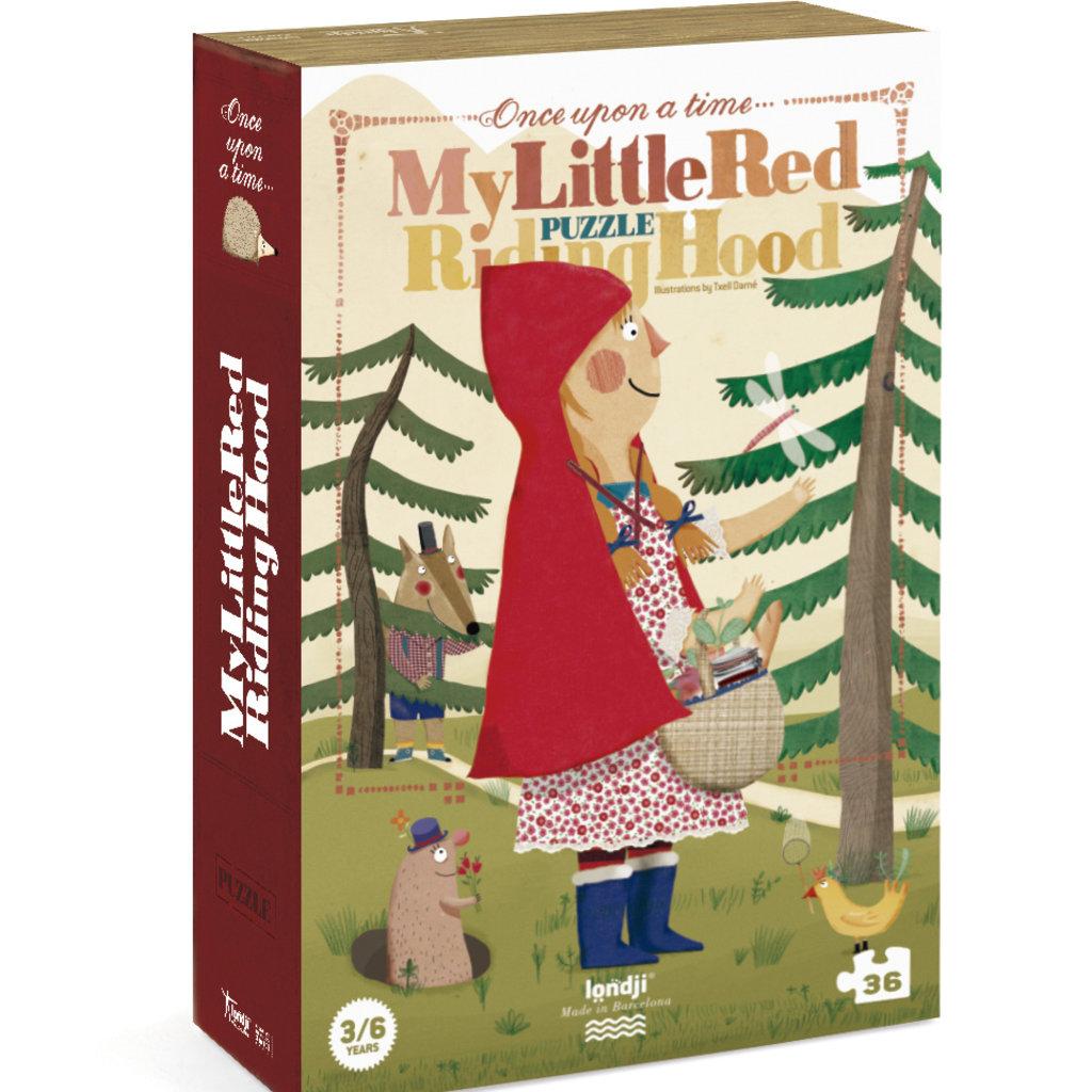 Londji Met Roodkapje in het bos!