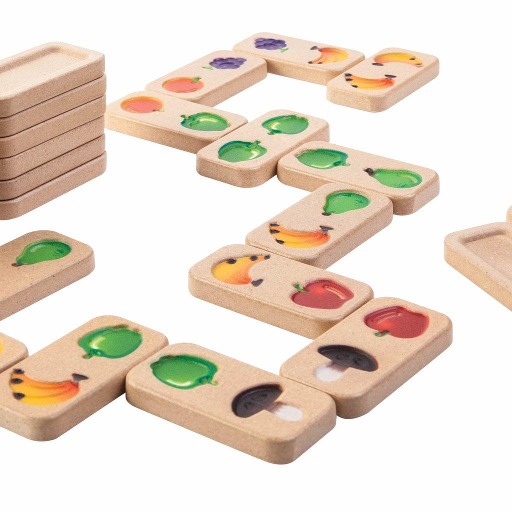 Plan Toys Plan Toys domino fruits et legumes