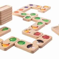 Plan Toys Fruit- en groentendomino